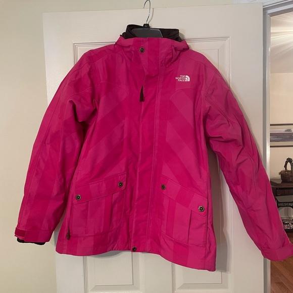 Hot Pink Women's North Face 2 Layer Ski Jacket
